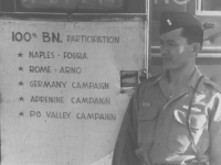 Campaigns of the 100th Inf. Bn. (Courtesy of Joy Teraoka)