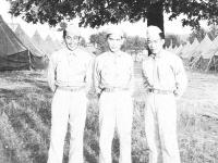 Sgt. Tahira, T. Yoshino, R. Muramoto (Courtesy of Alvin Tsukayama)