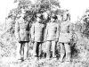 At Camp McCoy. H. Kami, C. Tsukayama, M. Yahata, J. Ohara