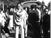 Gary Uchida during his induction ceremony. [Courtesy of Janice Uchida Sakoda]