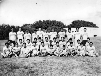 Members of the Club 100 Athletics team [Courtesy of Ukichi Wozumi]