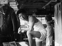 Staff Seargent Heiji Fukuda at his bunk at Camp Shelby [Courtesy of Ukichi Wozumi]