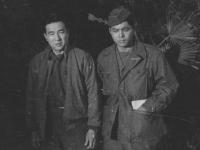 Uki Wozumi and William Takaezu [Courtesy of Ukichi Wozumi]