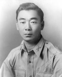 Studio portrait of Sakae Takahashi