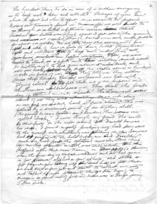 Dr. Richard Kainuma notes on treating the wounded under battlefield conditions, page 2