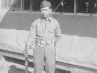 F Company veteran. [Courtesy of Kazuto Shimizu]