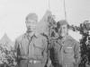 left - Pvt. Shimizu, Right - Sgt. Miyoken (Maui) [Courtesy of Kazuto Shimizu]
