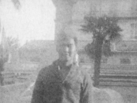 Menton:  10 Dec. 1944.  Do you know this boy? Shikuma Jiro. He is in our company.  [Courtesy of Herbert Sueoka]