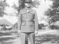 Takeichi Miyashiro at Camp McCoy, Wisconsin [Courtesy of Lorraine Miyashiro]