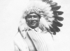 "Takeichi ""Chicken"" Miyashiro dressed as a Wisconsin-Dells Indian, Wisconsin-Dells, Wisconsin. [Courtesy of Lorraine Miyashiro]"