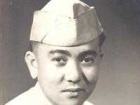 Wallace T. Teruya, Headquarter Co. (Courtesy of Ethel Teruya)
