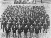 Sept 1942, Co. C, 100th Inf. Bn. Camp McCoy, Wis. [Courtesy of Betty Tokunaga]