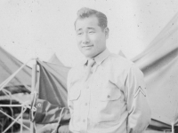 P.F.C. George Yamashiro. [Courtesy of Carl Tonaki]
