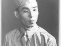 """Formal portrait of Toshikatsu """"Joe"""" Nakahara [Courtesy of Velma Nakahara]"""
