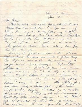 Capt Jack Mizuha, 01/10/1945, page 1