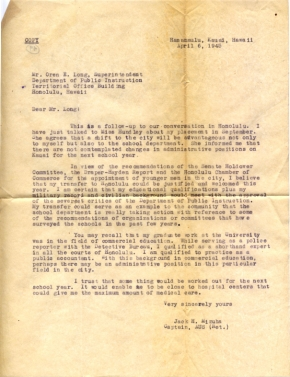 Capt Jack Mizuha, 04/06/1945