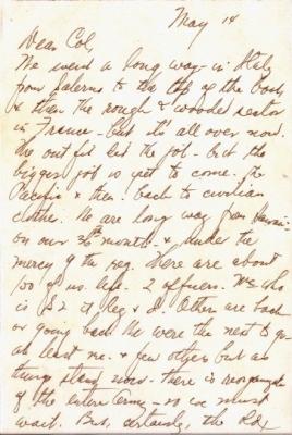 Capt K Kometani, 05/14/1945, page 1