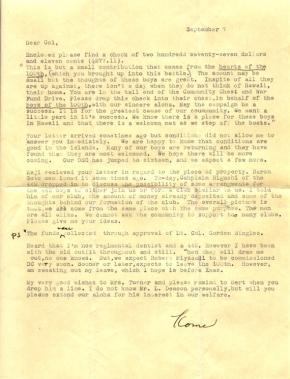 Capt K Kometani, 09/07/1944