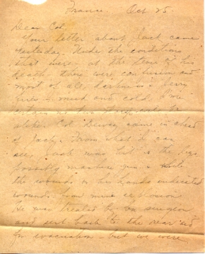 Capt K Kometani, 10/25/1944, page 1