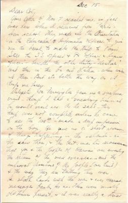Capt K Kometani, 12/15/1944, page 1