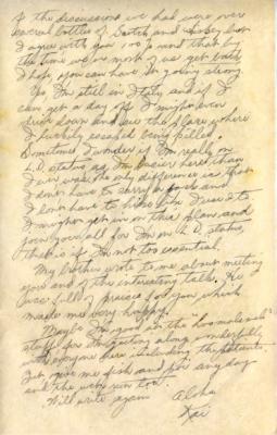 Capt R.T. Kainuma, 8/20/1944, page 2