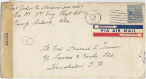 1st Sgt John K Hatori, 02/14/1945