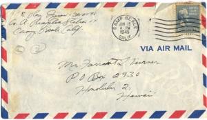 Pfc Roy Izumi, June 14, 1945