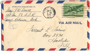 Maj Jim W Lovell, January 14, 1945