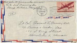 Pvt. John M Yamanoha, July 18, 1945
