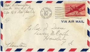 Capt K Kometani, June 1, 1945