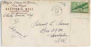 Major James W. Lovell, 06/25/1945