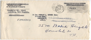 Lt R A Drolet, 9/4/1945