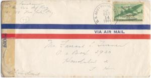 Capt. K Kometani, 11/10/1944