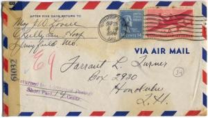 Maj. Jim W. Lovell, September 27, 1944