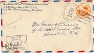 Pvt. Edward T Hirokawa, July 16, 1944