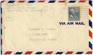 Israel A.S. Yost, February 26, 1946