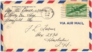 Maj Jim W Lovell, December 18, 1944