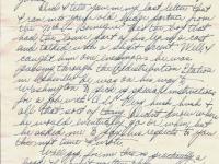 Geo (Bud) Faulder, March 28, 1945 (page 4)