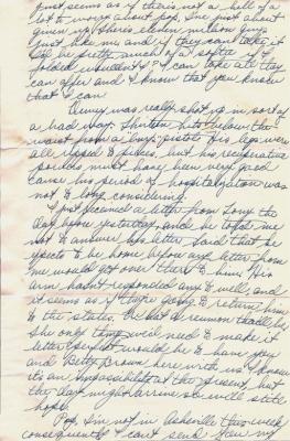 Geo (Bud) Faulder, March 28, 1945 (page 2)