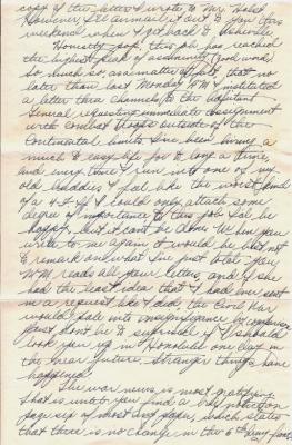 Geo (Bud) Faulder, March 28, 1945 (page 3)