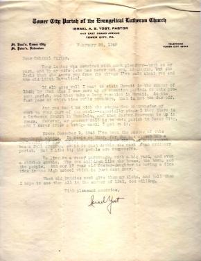 Israel Yost, 02/26/1946