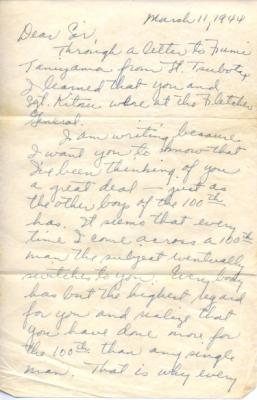 J. Akamine, 03/11/1944 (page 1)