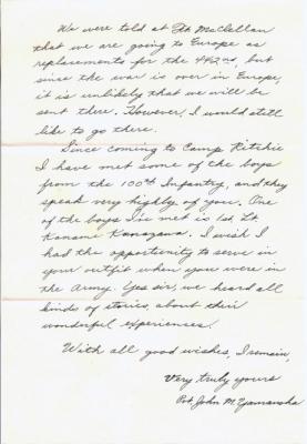 John M Yamanoha, 07/18/1945, page 2