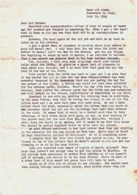 Kaji, 07/19/1944, page 1