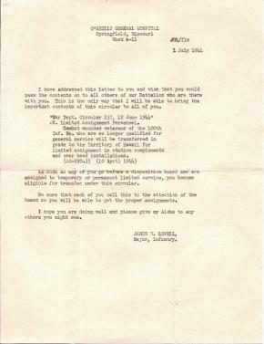 Maj Jim W Lovell, 07/01/1944
