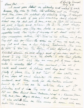 Maj Jim W Lovell, 07/06/1944, page 1