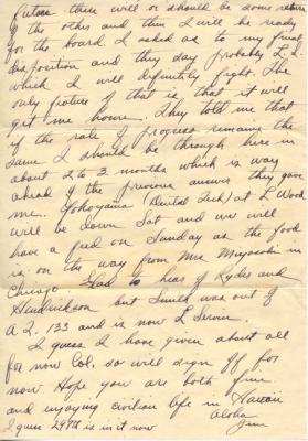 Maj Jim W Lovell, 10/23/1944, page 4
