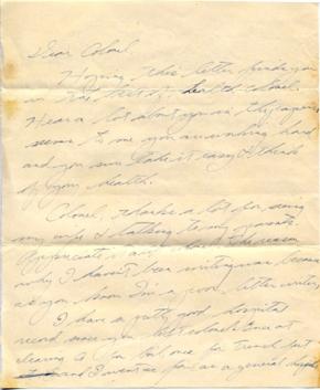 Pfc Roy Izumi (undated), page 1