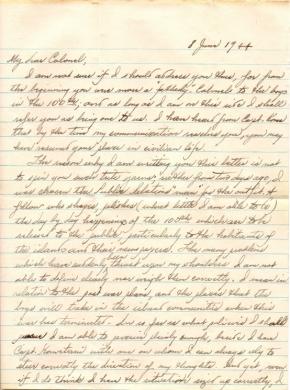 R Tomita, 06/08/1944, page 1