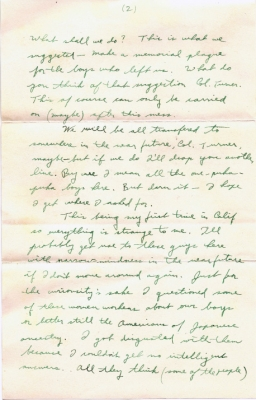 Wallace T Morioka, 06/28/1944, page 3